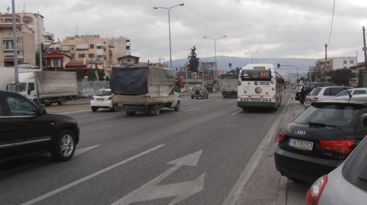 τραγικό συμβάν στην Θήβα λεωφόρος Αθηνών